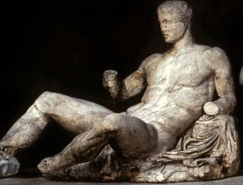 米开朗基罗雕刻酒神
