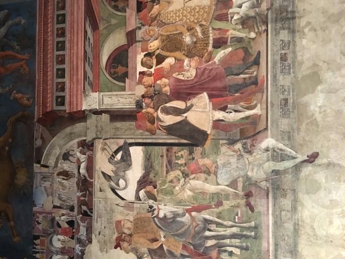 Fresco in the Sala dei Mesi (Room of the months), in Palazzo Schifanoia, Ferrara; 1476-84