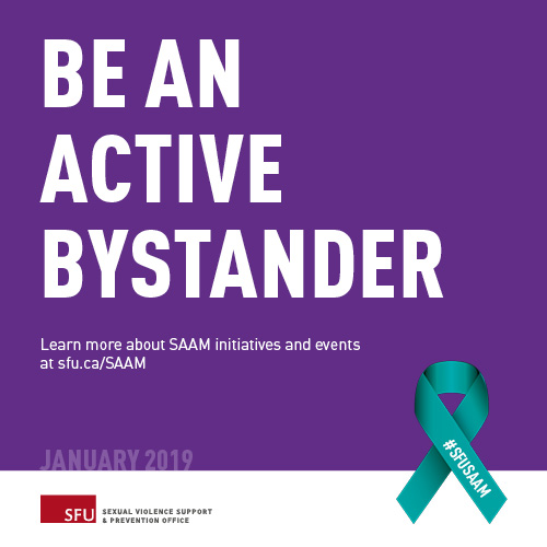 SAAM - Sexual Violence Support & Prevention Office - Simon Fraser University