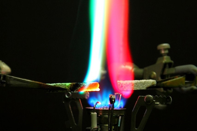 SFU scientists develop new—and safer—flame test demonstration