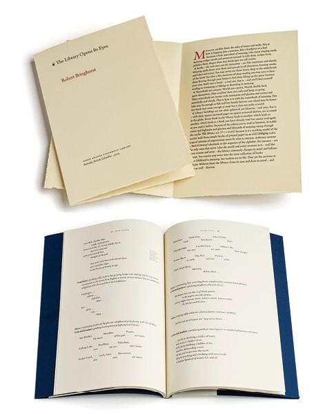 Robert Bringhurst Book Design
