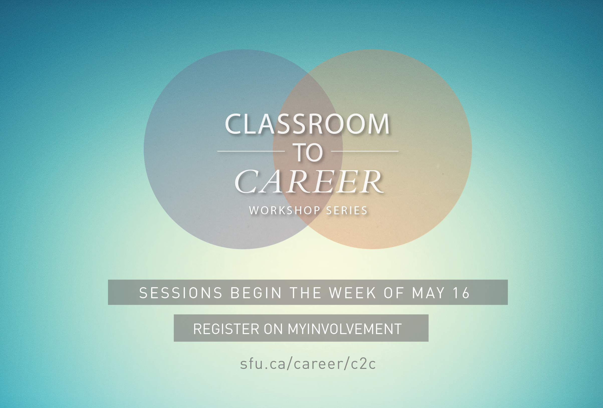 career services simon fraser university classroom to career