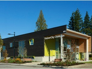 UniverCity Childcare building