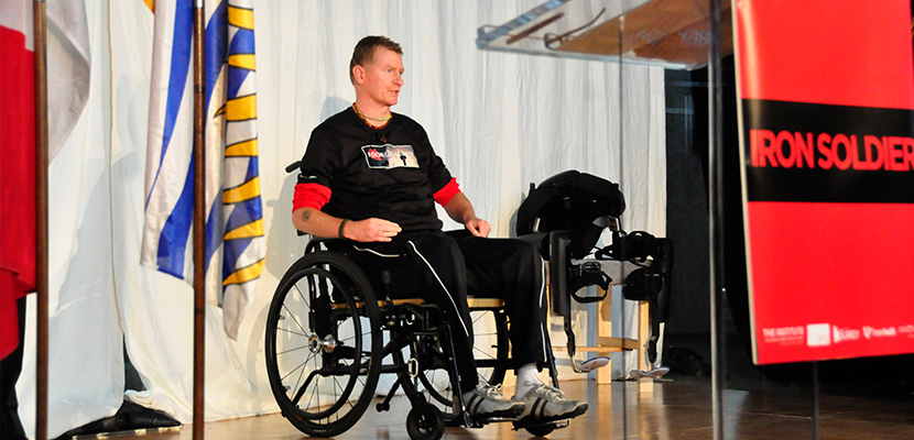 Capt. Trevor Greene partners with SFU to walk again