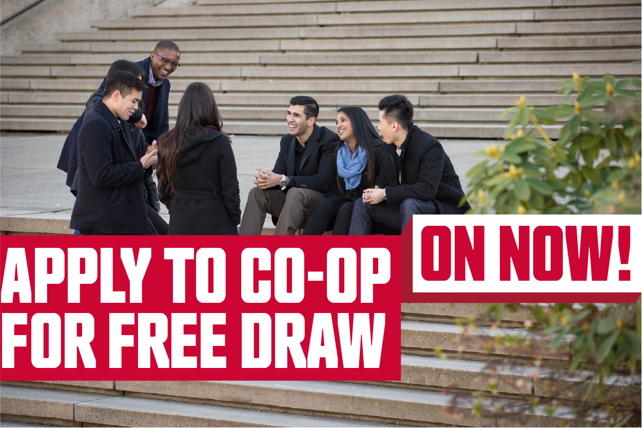 Apply to Co-op for Free Draw
