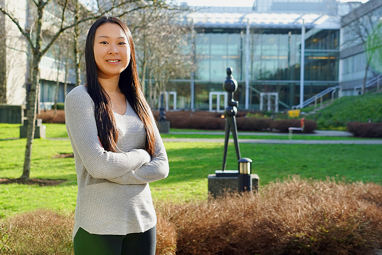 Wong has fallen in love with criminology while growing academically and professionally at the School of Criminology.