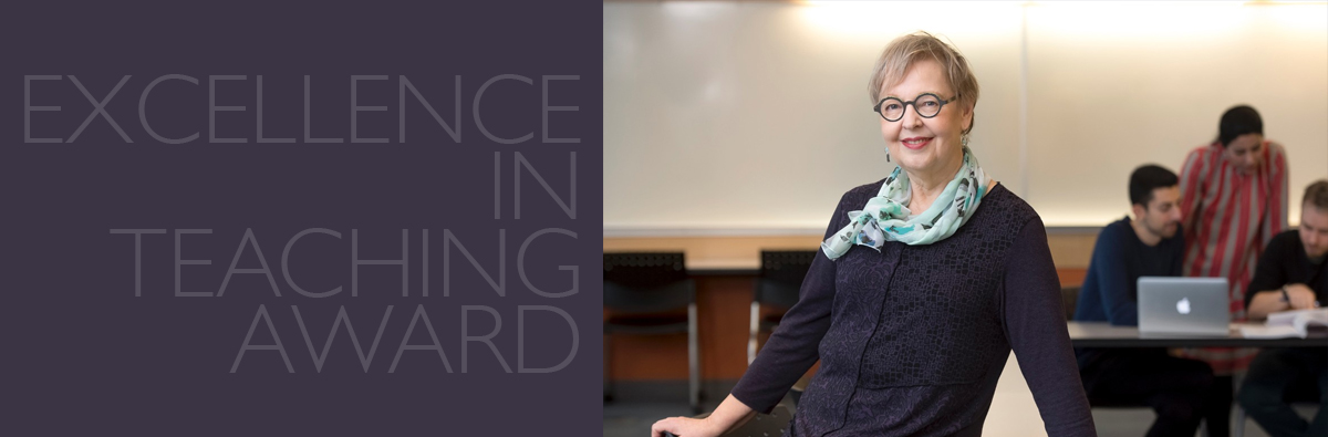 SFU Excellence in Teaching Award