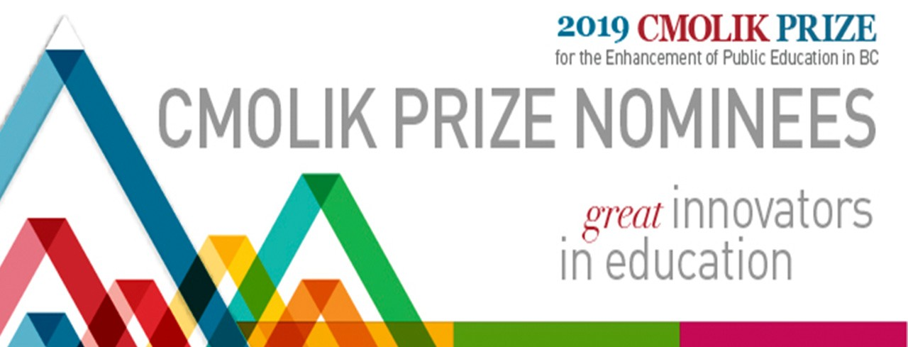 Cmolik Prize for the Enhancement of Public Education in BC