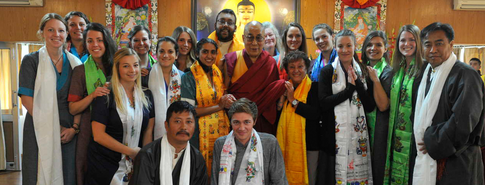 Meeting the Dalai Lama enriches practicum experience