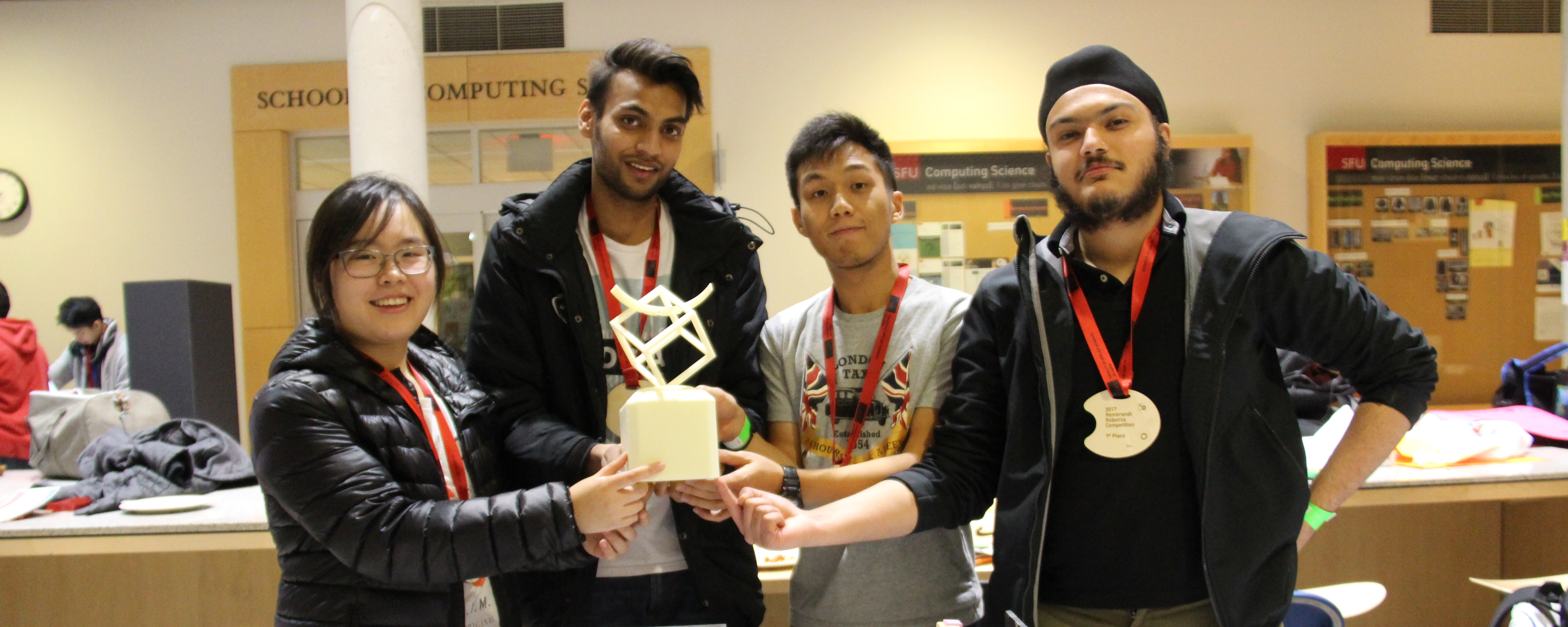 Art and engineering merge at robotics competition
