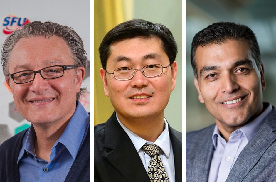 SFU innovators named fellows of CAE: Golnaraghi, Liu and Bahrami