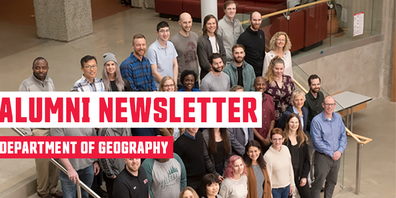 geography summer newsletter