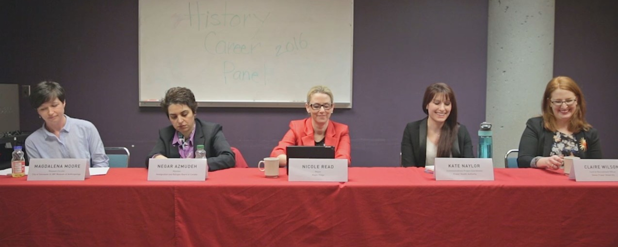 Video: History Career Panel -