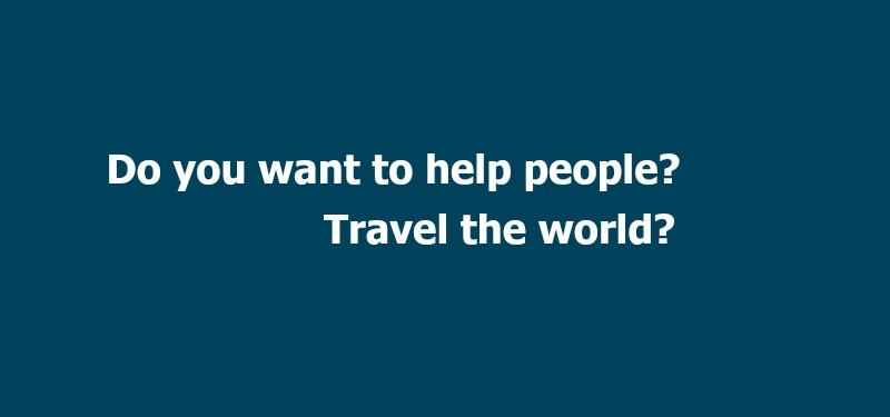 do you want to help people  travel the world