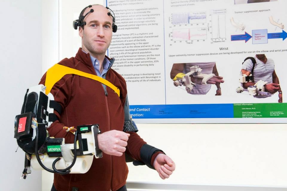 BCI-controlled Arm Exoskeleton