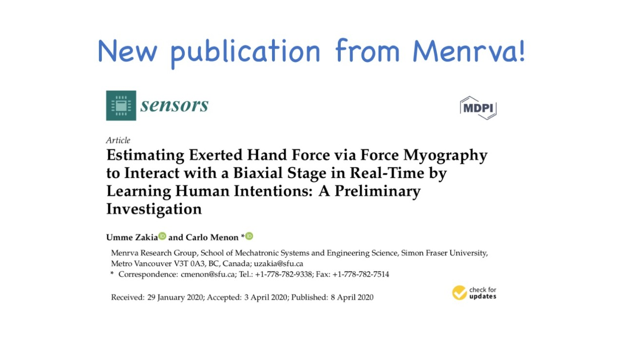 New Publication