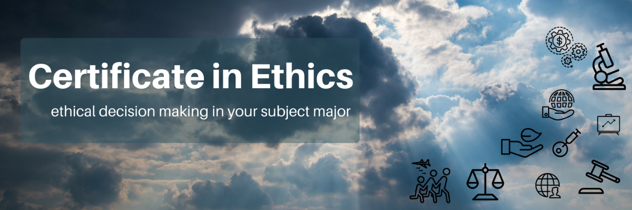 SFU Philosophy Ethics Certificate