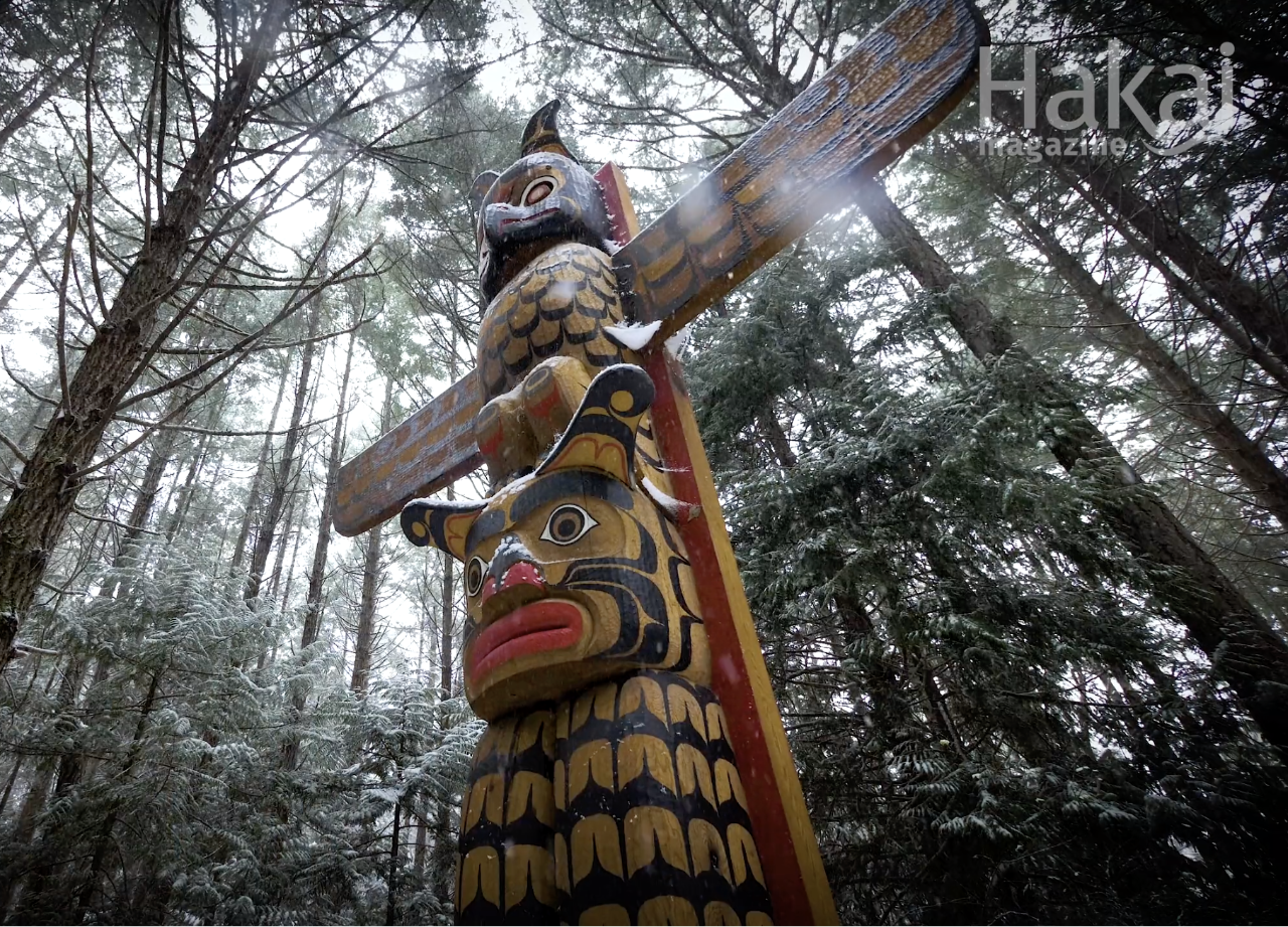 Searching the Forest for the Trees - This video, produced by Hakai Media, focuses on a cedar stewardship project being undertaken by the Nanwakolas Council.