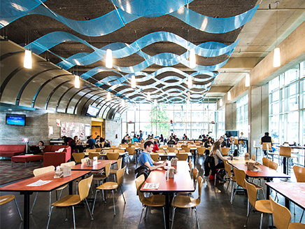 SFU Dining Services Amenities