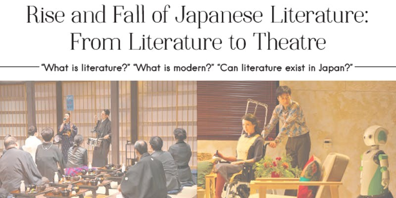 Rise and Fall of Japanese Literature: From Literature to Theatre