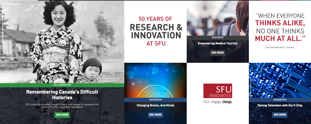 50 Years of Research & Innovation at SFU