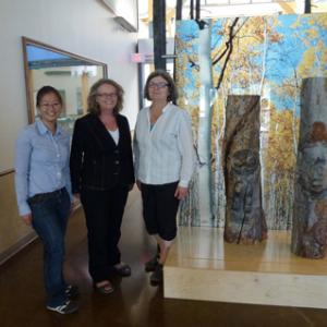 Jessica Lai, Cathy Bell and Sheila Greer