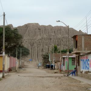 Past and Present landscape in Túcume, Lambayeque (Photo: Luis Muro Ynoñán)