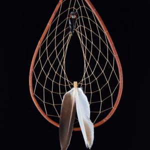 Red Willow Dream Catcher, Patricia Pacheco, Laguna-Ojibwa