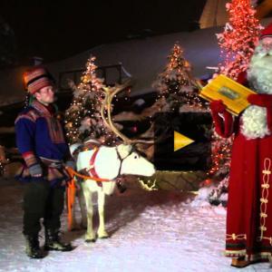 "Screenshot from Official ""Hometown of Santa"" website, Dec 2012."