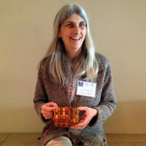 Susan at the Stolo People of the River Conference, held at the SRRMC, June 2012