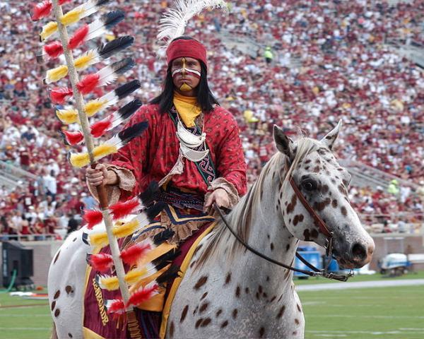 Florida State University mascots, Chief Osceola and Renegade