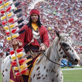Florida State University mascots, Chief Osceola and Renegade