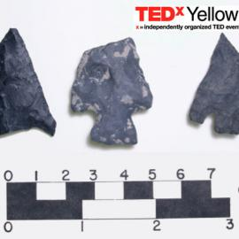 Projectile points, Kamloops, British Columbia (photo: G. Nicholas);