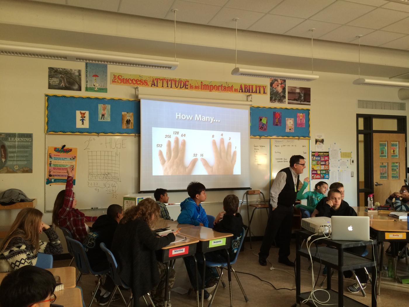 Brooksbank Elementary School, North Vancouver, B.C. | Math ...