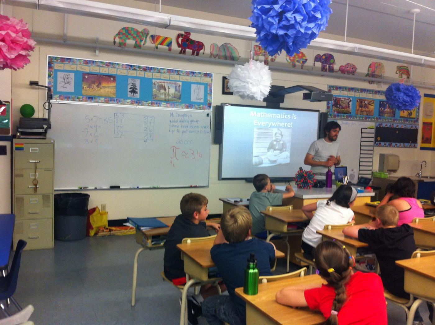 Elementary Classroom Websites : Gill elementary school port alberni b c math catcher