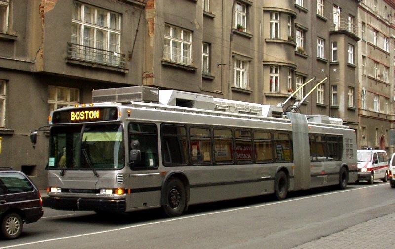 Boston Trolleybus Photos 4