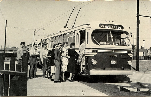 Brill Trolley Bus