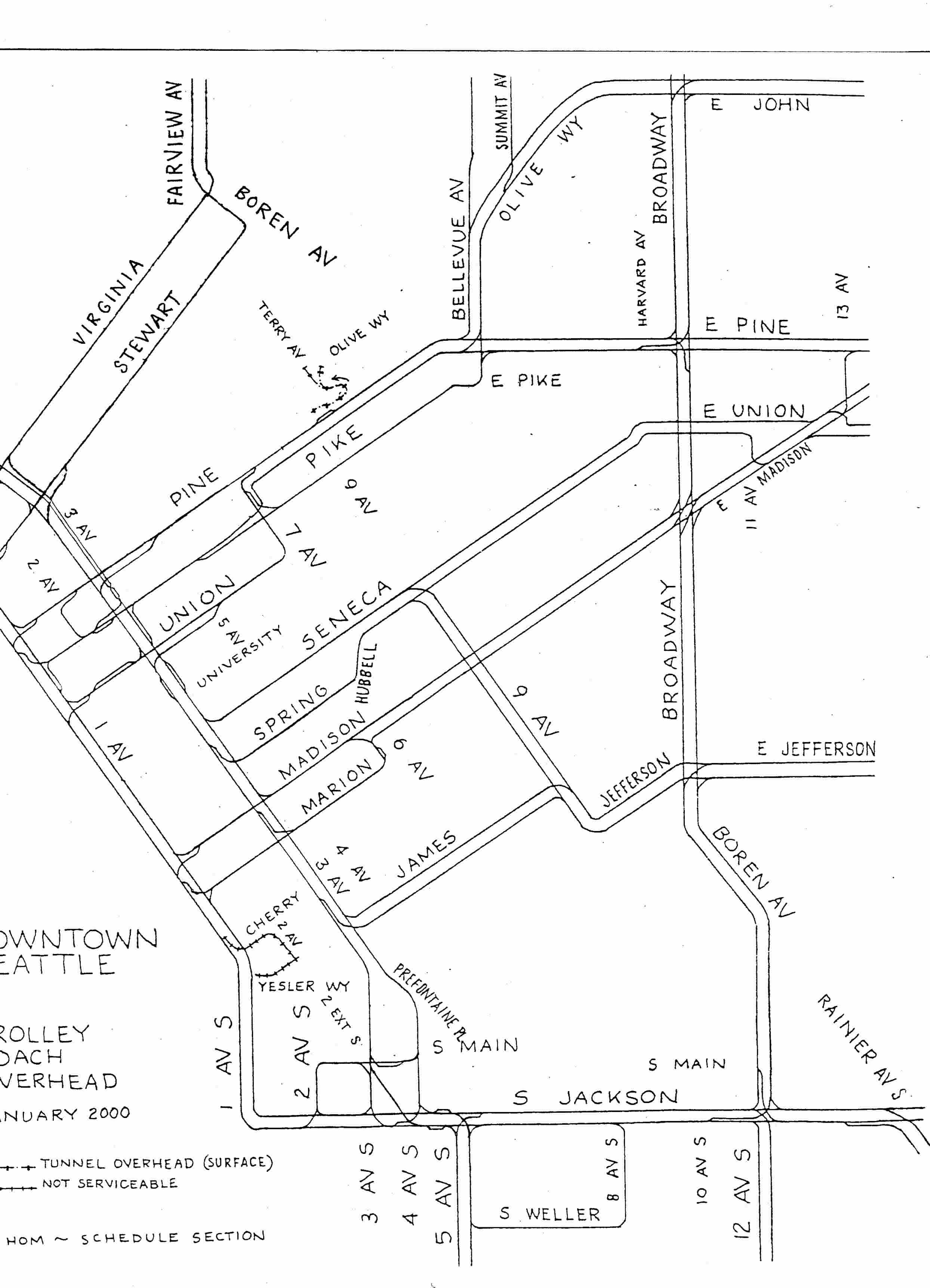 Seattle Maps and Schedules