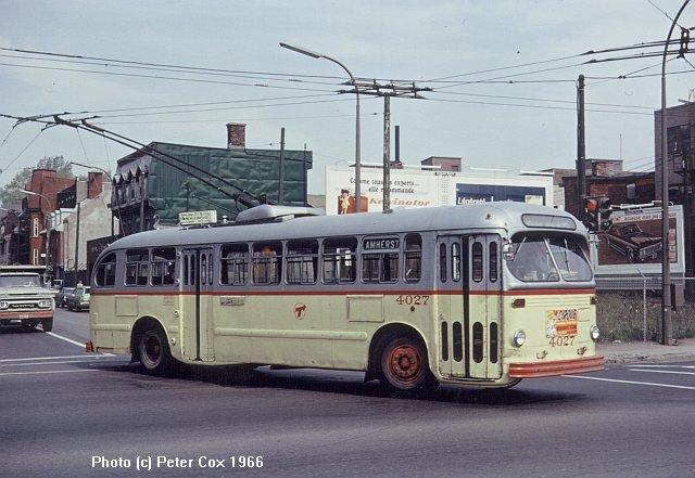 Montreal Trolleybus Photos