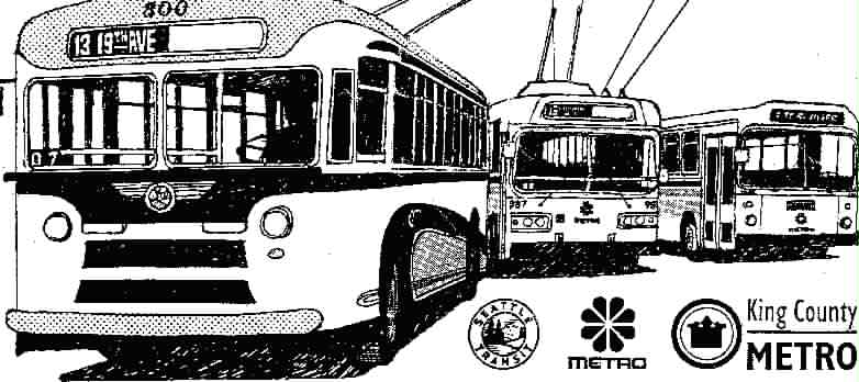 The Sixtieth Year of Trolleybus Service in Seattle