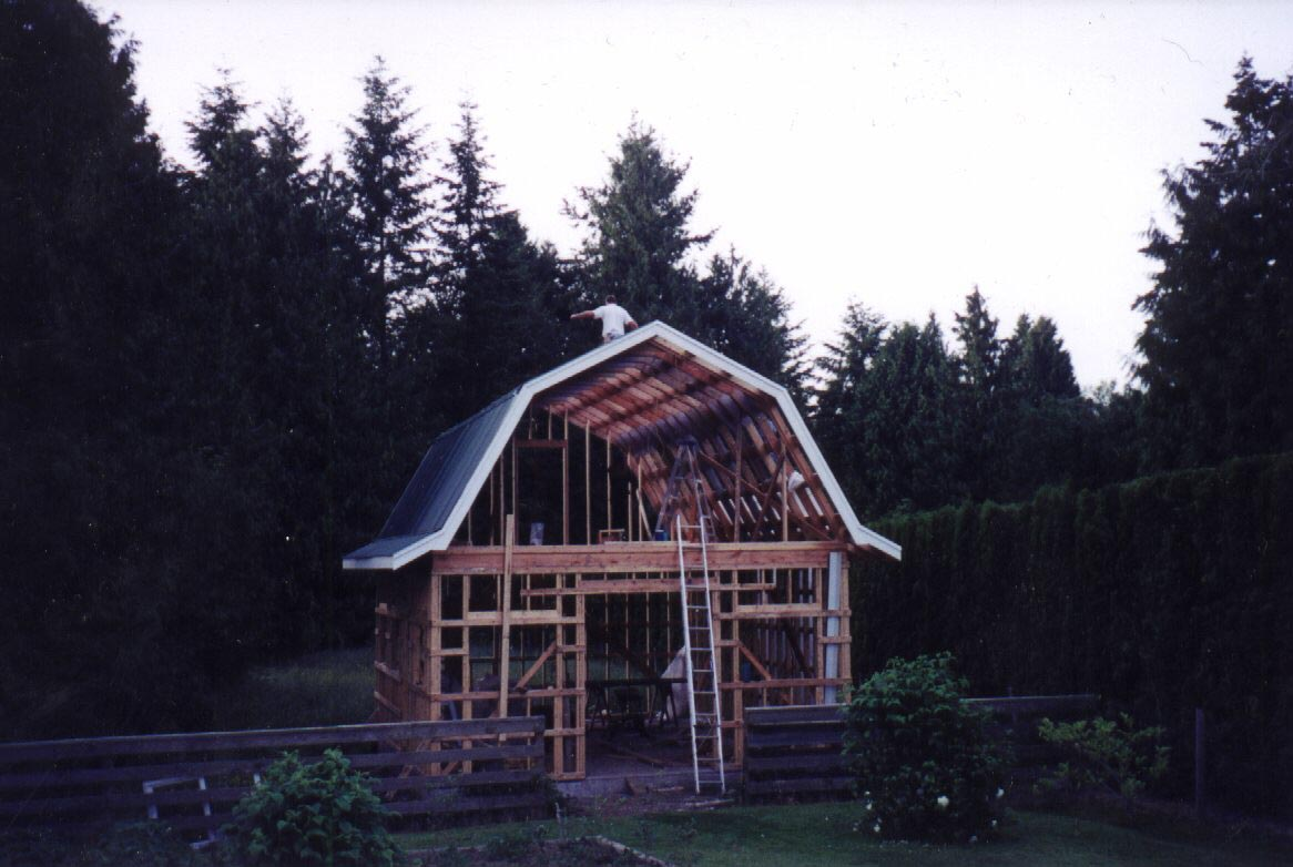 Hip Roof Barn Design