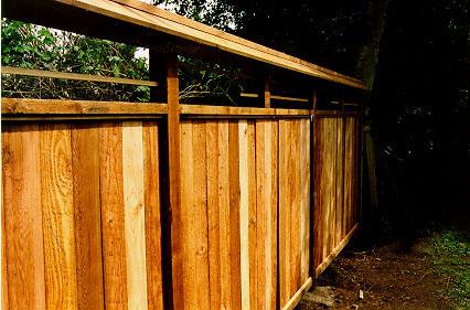 Japanese Garden Fence