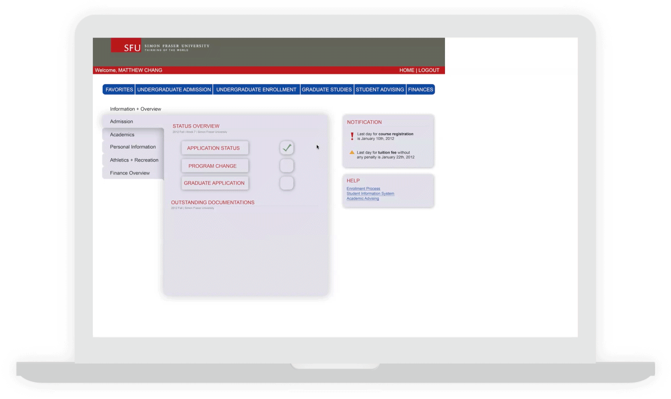 JaniceNg   SFU Course Enrollment System