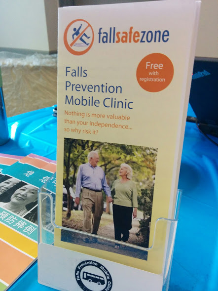 Falls Prevention Mobile Clinic brochure