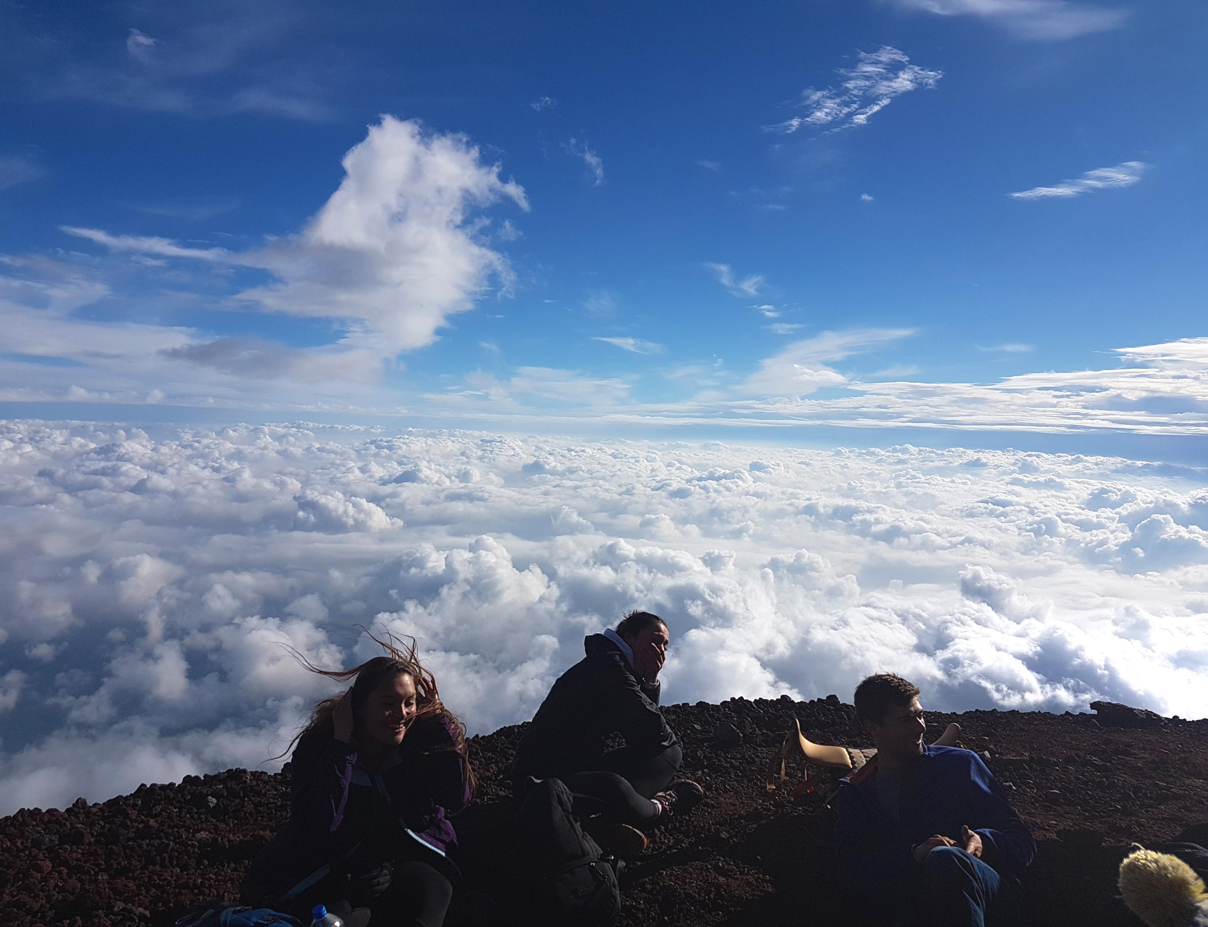 Mount Fuji hike