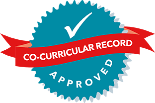 Co-Curricular Record recognition badge