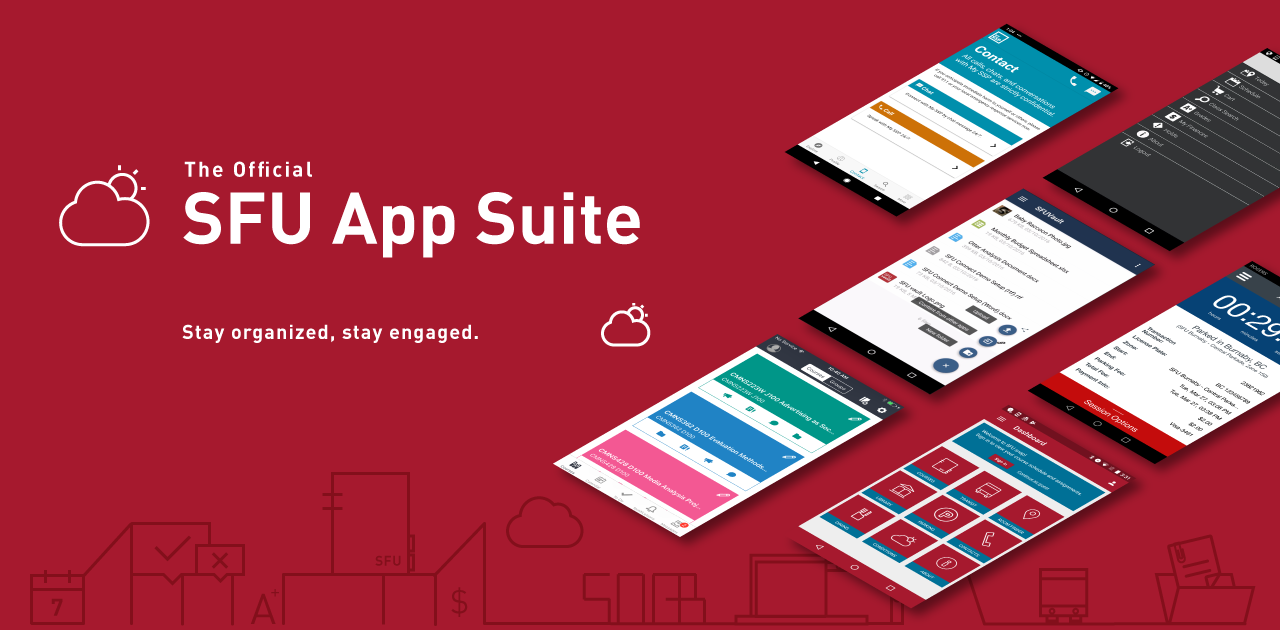 The Official SFU App Suite