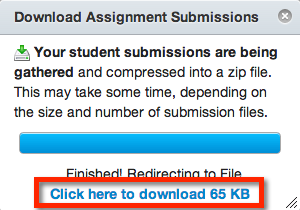 The Assignments Will Be Zipped And Automatically Downloaded If Zip File Doesnt Download When Finished Click Here To