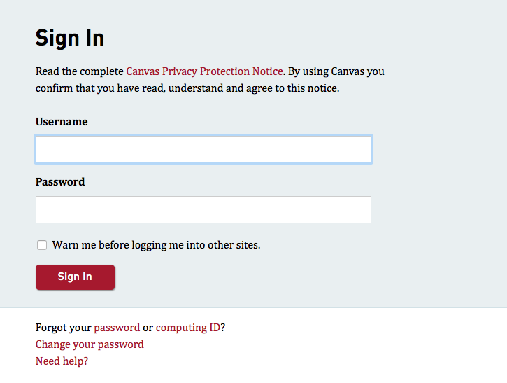 log in to canvas canvas support simon fraser university
