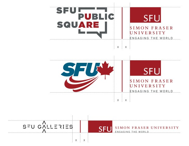 Brand Extensions Are Further Enhanced When Associated With The Master Brand,  As In The Examples Represented Here. Always Lock Up Logos Using The Spacing  ...